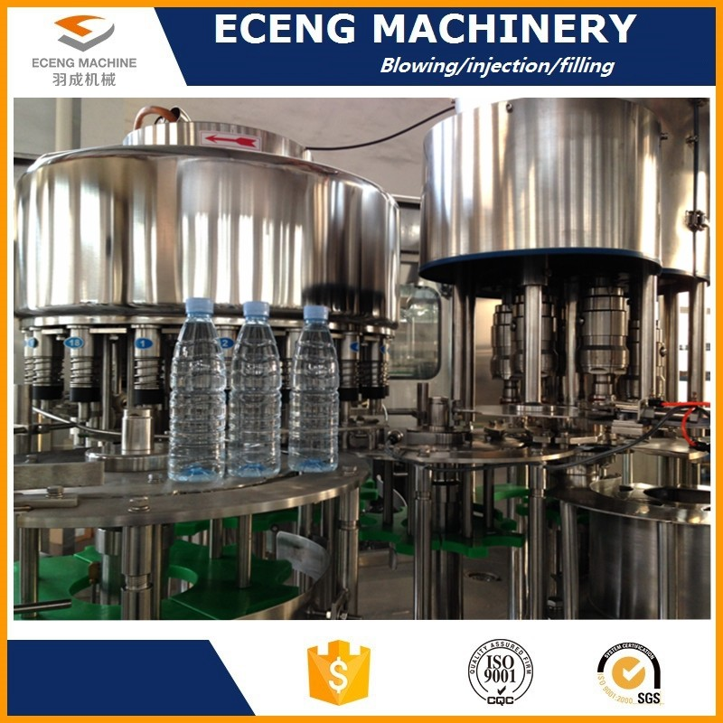 18 Filler Valves Smart Oil Bottle Hot Filling Machine With 6 Capping Heads